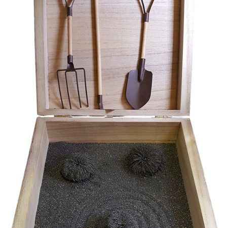 Zen Garden Box With Tools That Has Magnetic Sand Zen Garden Magnetic Sand Garden Boxes