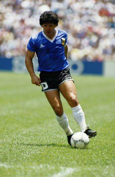 DIEGO MARADONA 1986 MEXICO WORLD CUP FOOTBALL   IMAGE LARGE IMAGE GIANT POSTER