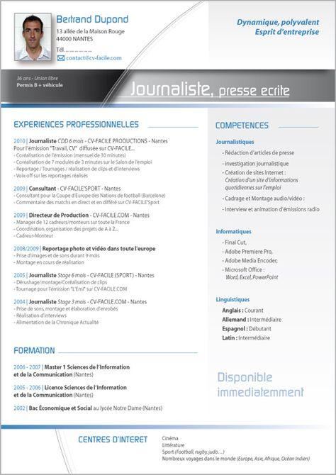 Modèle Cv Rédacteur Modèle Cv Original Exemple Cv