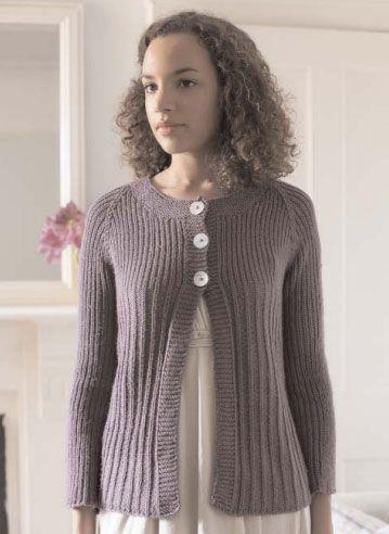 ab3cc5c09 Lily Cardigan Free Knitting Pattern