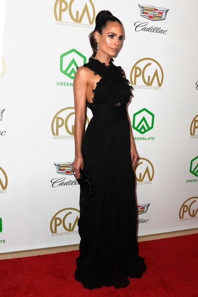 Jordana Brewster attends the 30th annual Producers Guild Awards at The Beverly Hilton Hotel.