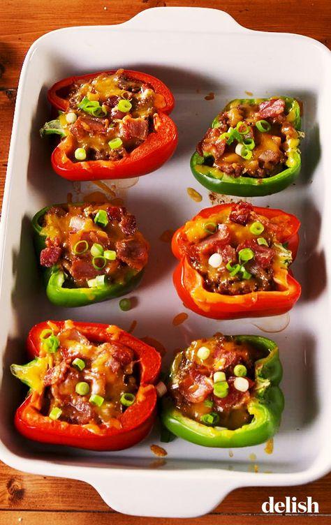 Keto Stuffed Peppers Recipe Stuffed Peppers Keto Stuffed Peppers Keto