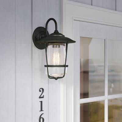 Marshall 1 Light Outdoor Wall Lantern Reviews Birch Lane Outdoor Wall Lantern Wall Lantern Outdoor Wall Lighting