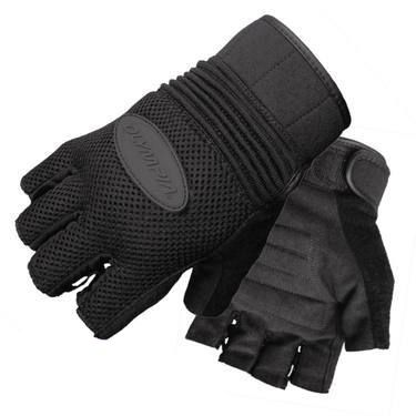 Olympia 757 Air Force Fingerless Men's Black Motorcycle Gel Gloves. http://www.angelesbros.com/men-s-gloves-classic-c-121_122_275_251/olympia-757-air-force-fingerless-men-s-black-motorcycle-gel-gloves-p-2165