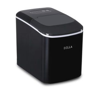 Della 26 Pound Capacity Portable Ice Maker Machine Ice Cube