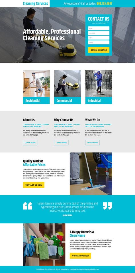 professional-cleaning-service-resp-lp-006 | Cleaning Services Landing Page Design preview.