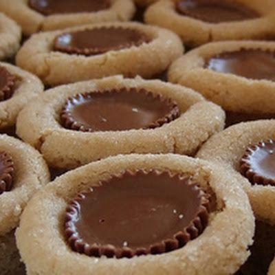 Peanut Butter Reese Cookies