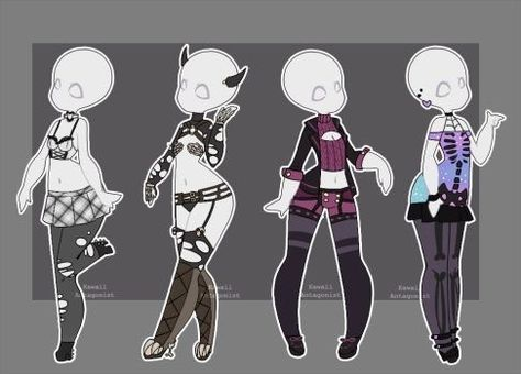 Gacha Pon Outfit S Character Design Character Drawing Drawing Anime Clothes