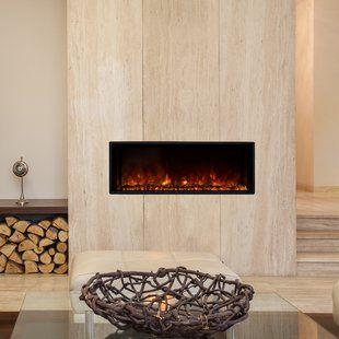 Small Electric Fireplace Wayfair Ca Wall Mount Electric Fireplace Fireplace Inserts Fireplace