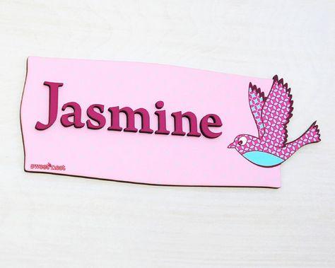 Sweet Butterflies Door Sign Pink Pretty Rustic Design Girls Posh Bedroom Personalized Name Plaque DS0711