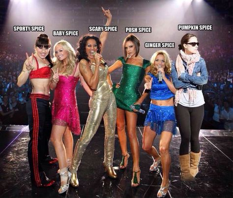 Pumpkin Spice - the member of the spice girls