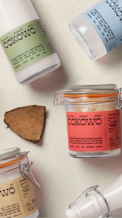 Cokowo packaging design by TATABI Studio