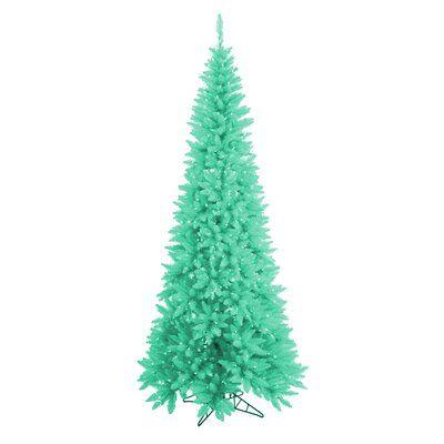 newest 6506d bcb38 Vickerman 9' Seafoam Green Ashley Spruce Christmas Tree with ...