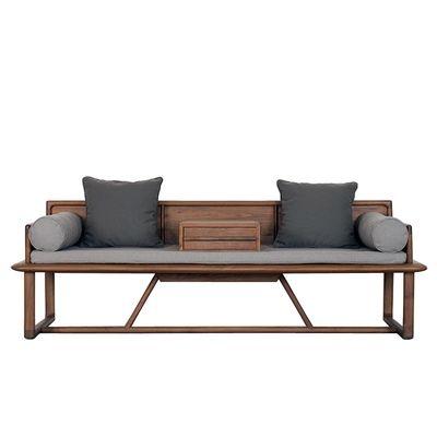 纯实木 原木 罗汉床 中式沙发 明心系列素元木作设计师品牌 淘宝网 | Outdoor Furniture | Pinterest | Chinese  Furniture, Bench And Daybed