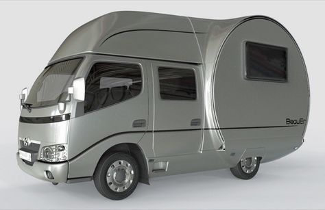 Modern Transforming RV Camper by BeauEr