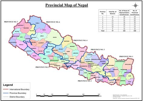 Map Of Nepal With 77 Districts Updated Map Of Nepal With 77 Districts Map Nepal Nepal Travel