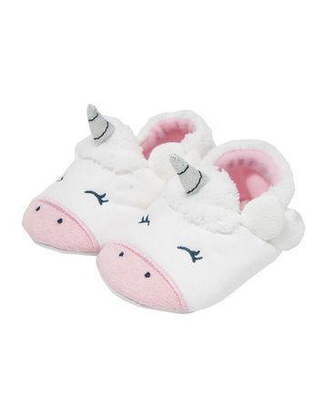 Unicorn slippers, Baby girl headwraps