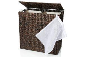 Designer Wicker Laundry Divided Interior 95 99 Product Brand B C
