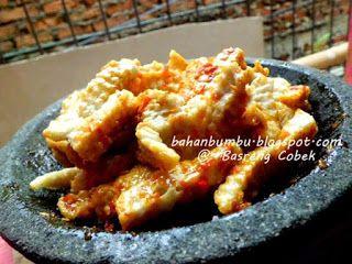 Resep Basreng Bakso Goreng Sambal Cobek Pedas Makanan Resep Masakan Bakso