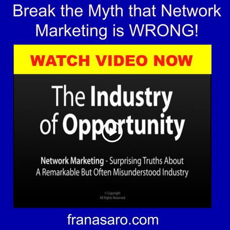 The Industry of Opportunity Fran Asaro Stuart Floriday