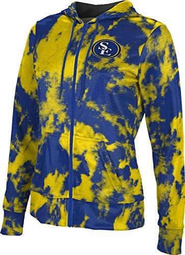 Grunge ProSphere University of Northern Colorado Mens Full Zip Hoodie