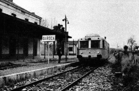 Estación De Daroca Zaragoza Tren Antiguo Estacion De Tren Estacionamiento