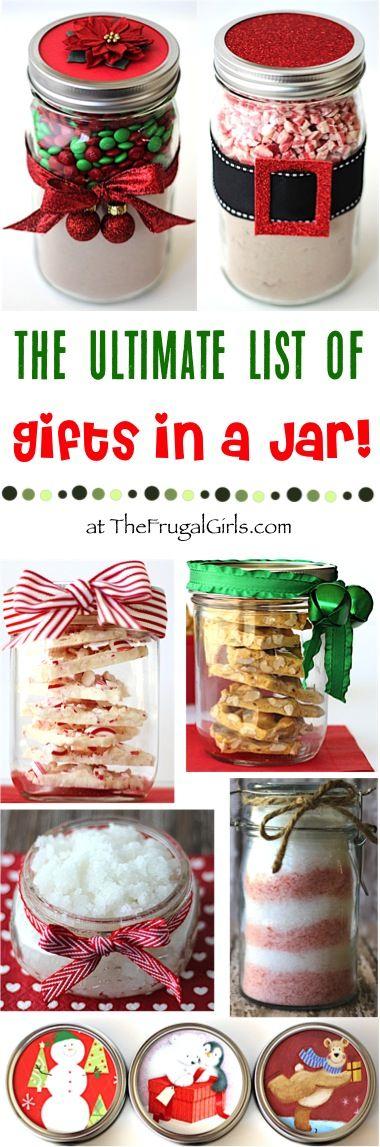 50 Things In Jars Ideas Jar Gifts Mason Jars Mason Jar Gifts