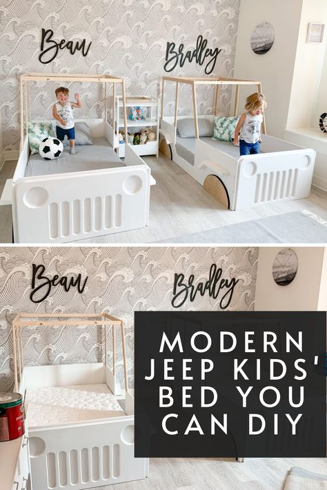 Modern Jeep Kid S Bed You Can Diy Cool Toddler Beds Kid Beds Toddler Bed Boy
