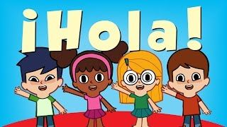Hola Canciones Infantiles Super Simple Español Preschool Spanish Kids Spanish Activities Preschool Spanish Lessons