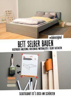 Bett Franz Selber Bauen Alle Mobel Create By Obi Alle Bauen Bett Bettanleitung Create Franz In 2020 Dream Apartment Decor Apartment Deco Apartment Decor