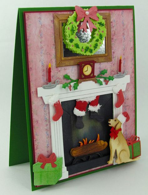 Frantic Stamper Precision Die - Fireplace