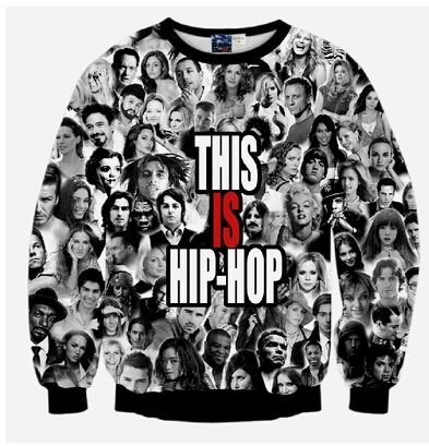 f3a031e3649 Stars Hip hop rap star 2pac Tupac print 3D sweatshirt for men boy male  crewneck harajuku