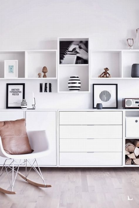 1 Post Piaciuti Tumblr Shelves Home Decor Ikea Eket E Home