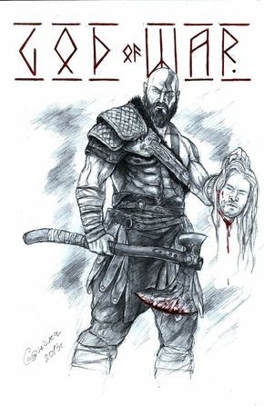 Kratos God Of War 4 Timothy De Guzman