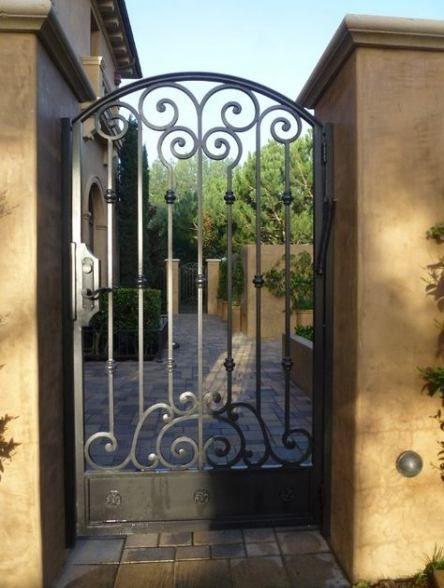 51 Trendy Iron Door Design Entryway Garden Gates Iron Garden Gates Iron Gate Design Door Gate Design