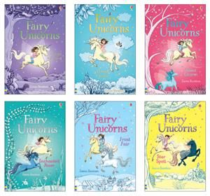 Fairy Unicorns Complete Collection 6 Check It Out At The Coastal Book Nook With Usborne Books More Www Coastalbookn Unicorn Books Usborne Books Magic Book