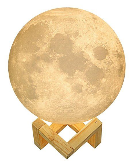 Hola Led Moon Light 3d Moon Lamp Baby Night Light With Stand Desk Lamp Lunar Light Rechargeable Touch Sensor Moon Light Lamp Led Night Lamp Night Light Lamp