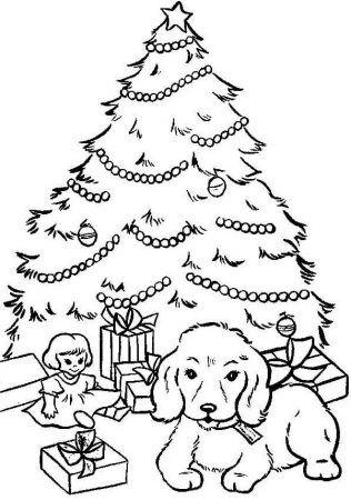 Malvorlage Weihnachtsbaum.Ausmalbilder Weihnachtsbaum Weihnachten Baum Weihnachtsbaum