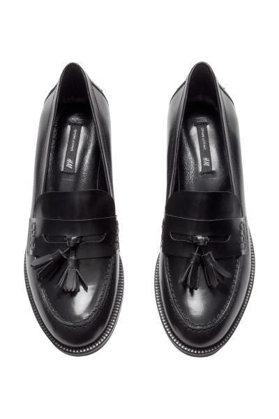 grossiste 71ab7 b5dd3 Mocassin H&M noir pour aller avec le jean   Paris - Fashion ...