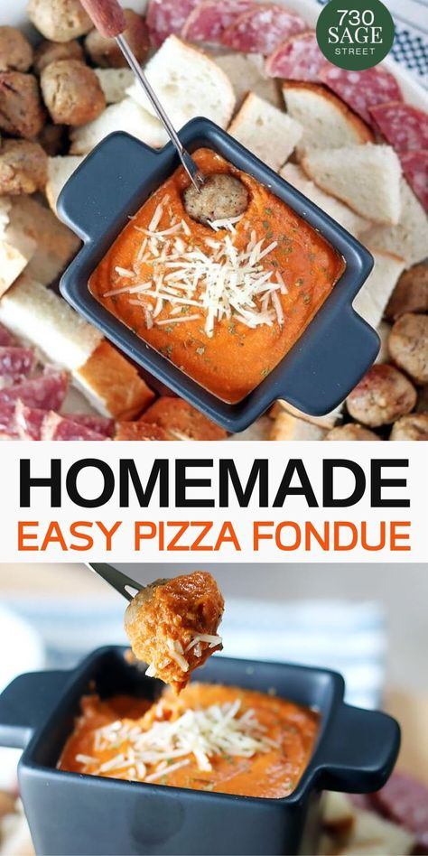 This Homemade Pizza Fondue Recipe is and really super to make. Enjoy it This Homemade Pizza Fondue Recipe is and really super to make. Enjoy it Fondue Recipe Melting Pot, Melting Pot Recipes, The Melting Pot, Beer Cheese Fondue, Easy Homemade Pizza, Homemade Recipe, Fondue Party, Fruit Dips, Appetizer Recipes