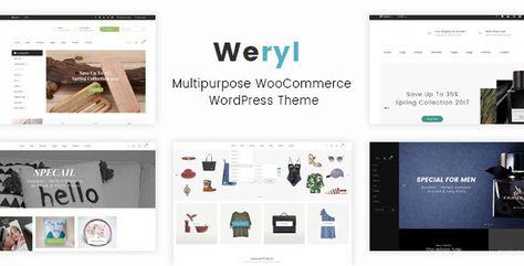 Weryl - Multipurpose WordPress Theme by kutethemes