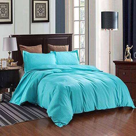 Duvet Cover With Pillowcases Quilt Bedding Microfiber Hotel