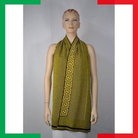 genuino elegante miglior grossista VERSACE SCHAL SCARF SCIALLE SCIARPA CHAL BUFANDA | Versace ...