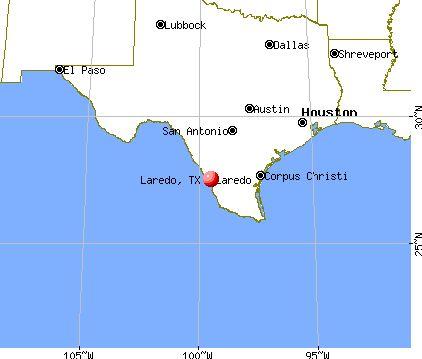 Map Of Texas Showing Laredo.Laredo Texas Tx 78040 78041 Profile Population Maps