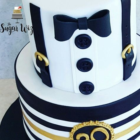 Image result for white and blue buttercream cake for a guy