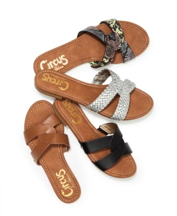 Sam Edelman Clover Flat Sandals, Women Shoes | Flip flop