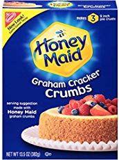 Perfect Homemade Graham Cracker Crust Baking A Moment Honey Maid Graham Crackers Graham Crackers Homemade Graham Crackers