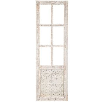 White Cathedral Window Wood Wall Decor Wood Wall Decor Wood