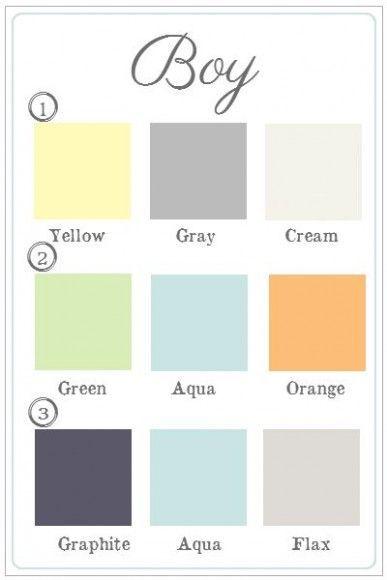 Colores Bebe.Paletas De Colores Para Habitacion De Bebe Colores Para El