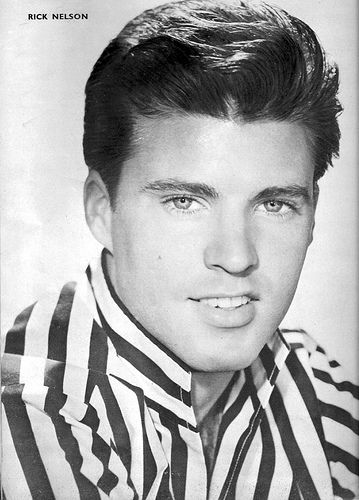 Ricky NELSON (1940 - 1985) Began as a child actor.